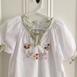 Other - Hand embroidered boutique top purchased in Europe